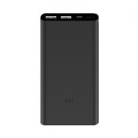 Внешний аккумулятор Xiaomi Mi Power Bank 2i 10000 mAh (2 USB) Black